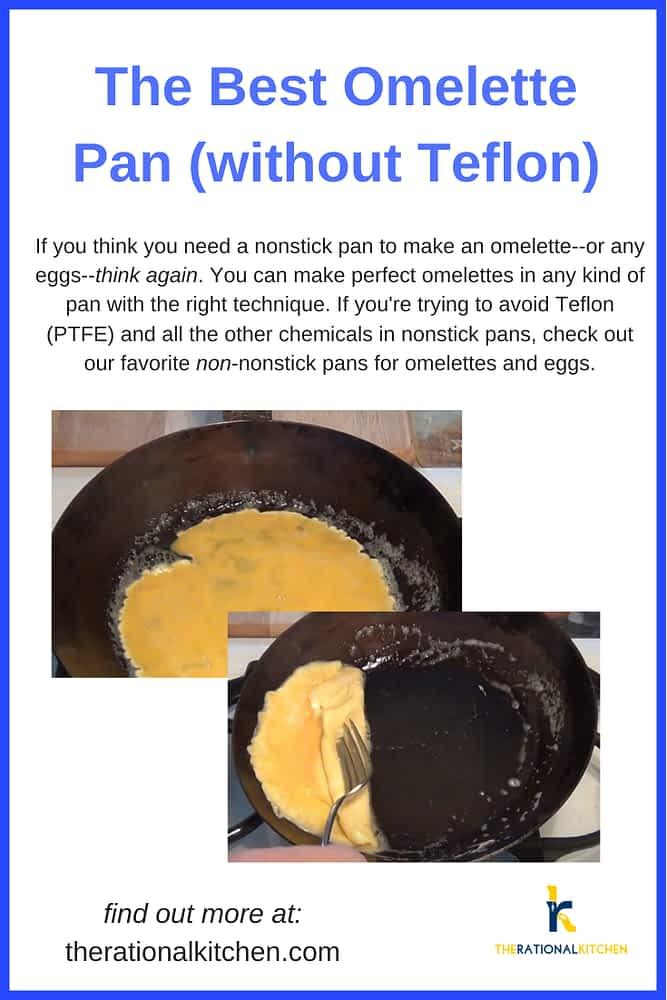 Best Omelet Pan without Teflon (pinterest)