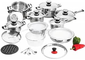 BNF 28 pc waterless cookware set