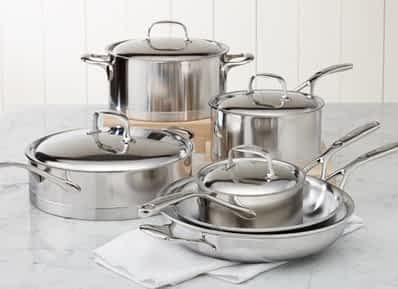 Demeyere Atlantis 10 pc set - Best Induction Cookware