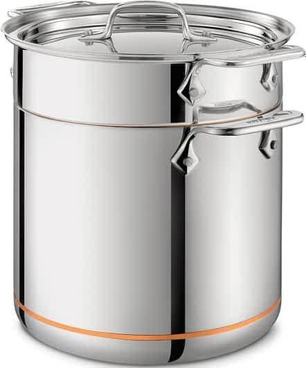 All-Clad Copper Core pasta pot
