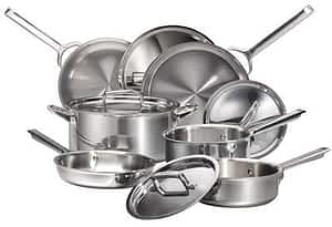 Wolf Gourmet cookware set: Cookware Made in the USA