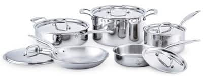 Heritage Steel 10 pc set: Cookware Made in the USA