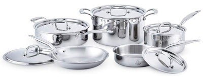 2019 Gift Guide Hammer Stahl Cookware Set