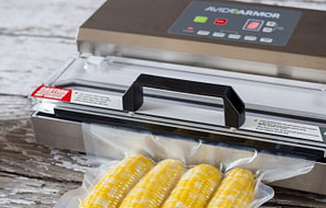 Avid Armor A100 with corn on the cob