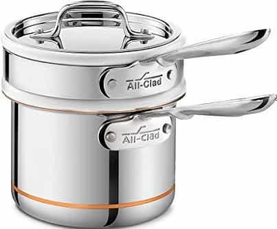 All-Clad Copper Core double boiler