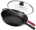 Lodge cast iron - Best Pans without Teflon