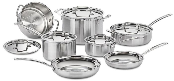Cuisinart Multiclad Pro 12 pc set - best induction cookware