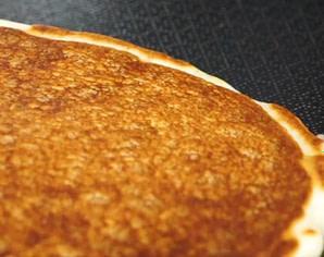 Pancake in Hexclad Pan