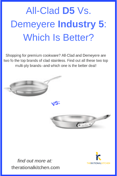 All-Clad D5 Vs. Demeyere Industry 5: Which Is Better? pinterest
