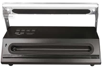 Pro Advantage vacuum sealer, open: Weston Vacuum Sealer Reviews: The Comprehensive Buyer's Guide