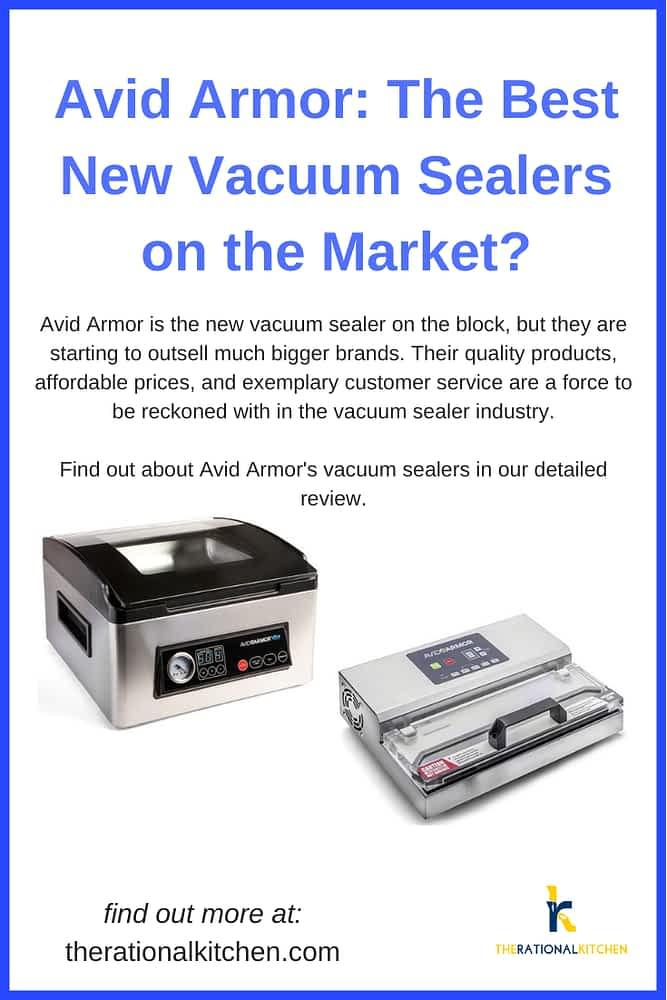 Avid Armor: The Best New Vacuum Sealers on the Market? pinterest