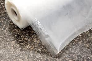 Edge sealer bag closeup