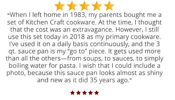 Kitchen Craft review Waterless Cookware: A Detailed Analysis