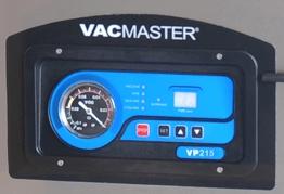 The VP215 control panel.