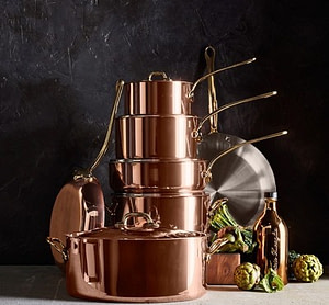 Rational Kitchen 2019 Ultimate Gift Guide Mauviel copper set