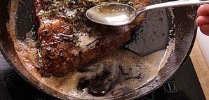 Basting a Steak - How to Pan Sear a Steak