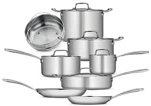 Tramontina Tri-Ply Clad Stainless 13 pc set