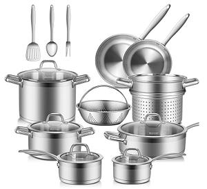 Duxtop 17 Pc Professional Cookware Set