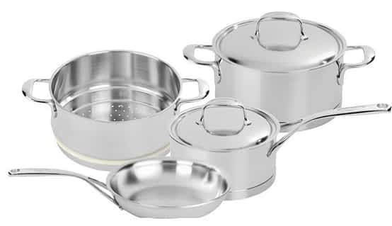 Demeyere Atlantis set: Top 5 Brands of Clad Stainless Cookware (And Why You Should Buy Stainless)