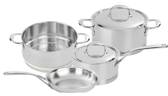 Demeyere Atlantis 6 pc set, best cookware brands
