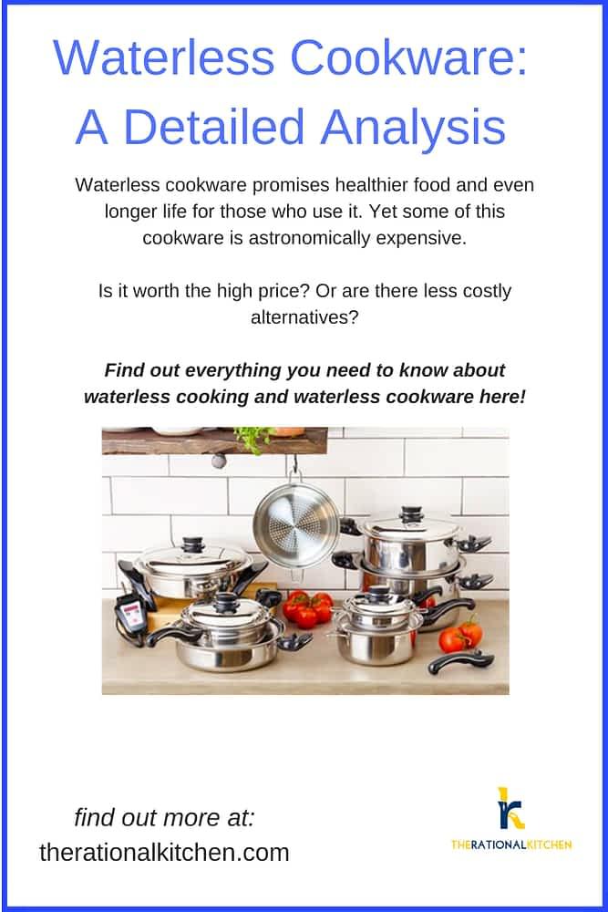Waterless Cookware: A Detailed Analysis pinterest