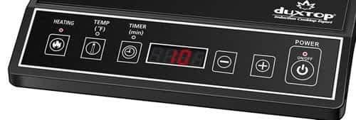 Duxtop 9100MC control panel