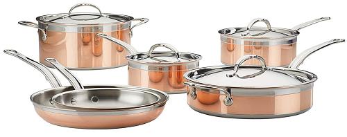 Hestan CopperBond 10pc Set