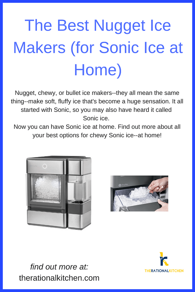 Best Nugget Ice Makers Pinterest