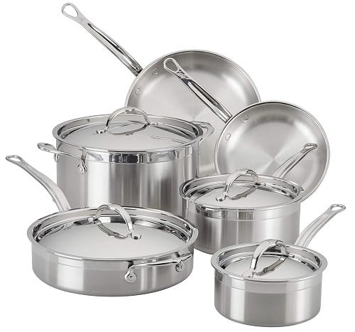 Hestan ProBond 10pc Cookware Set